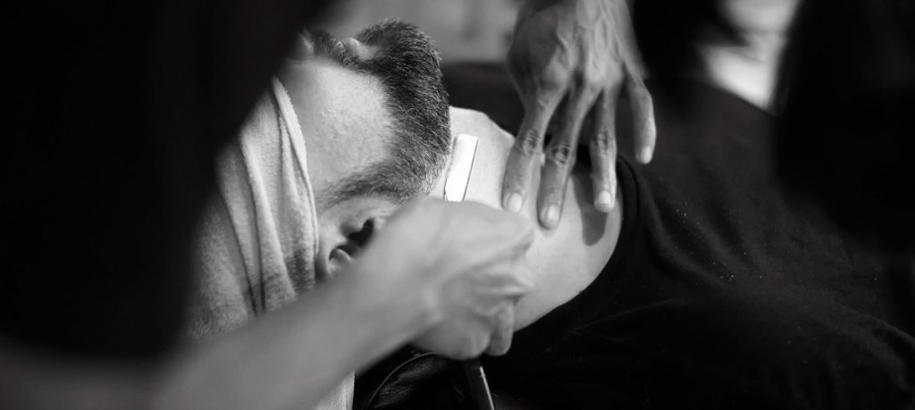straight razor shave 3