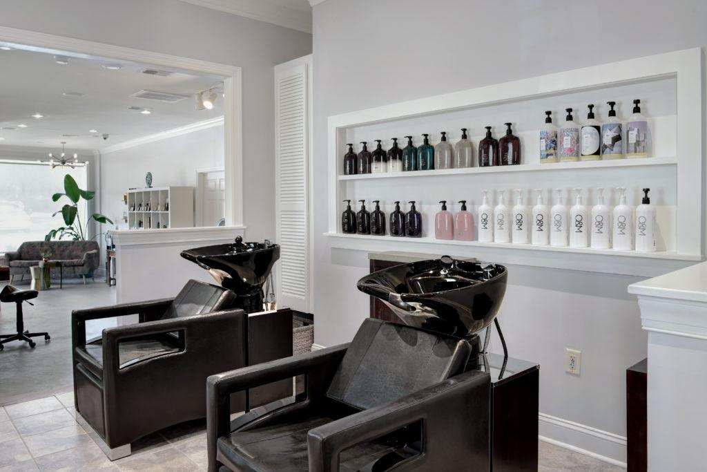 Tabula Rasa Charleston Salon Shampoo Stations